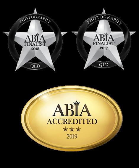 2019 ABIA Accrediteditation for She Said Yes! wedding film & photography